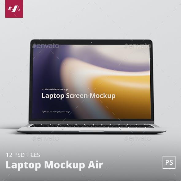 Laptop Mockup Air