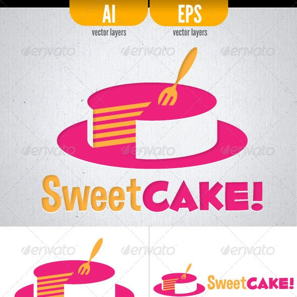 Sweet Cake! - Logo Template