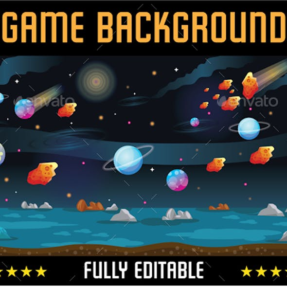 Planet Game Background