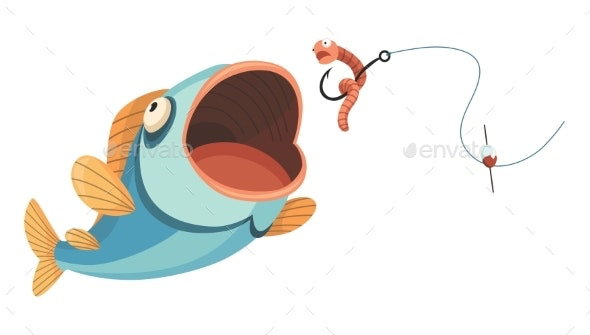 Fish Catch - Animals Characters