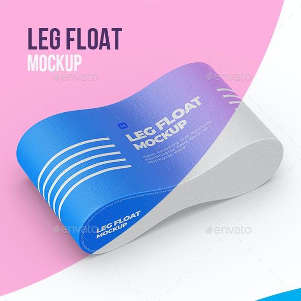 Leg Float / Pull-Buoy Mockup