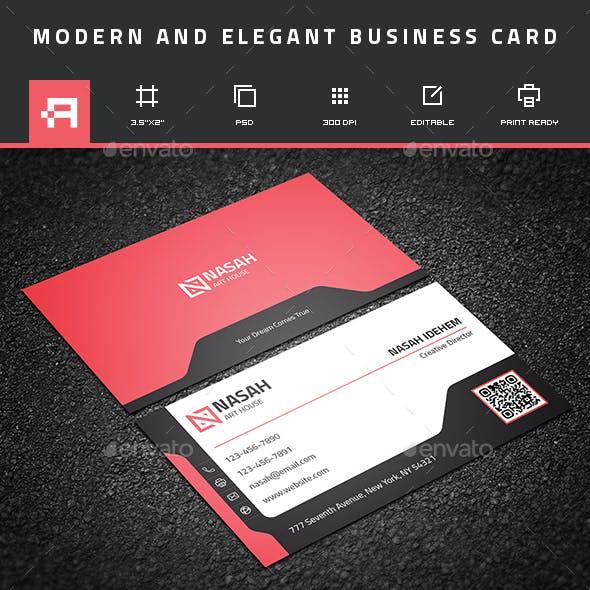 Modern & Elegant business card