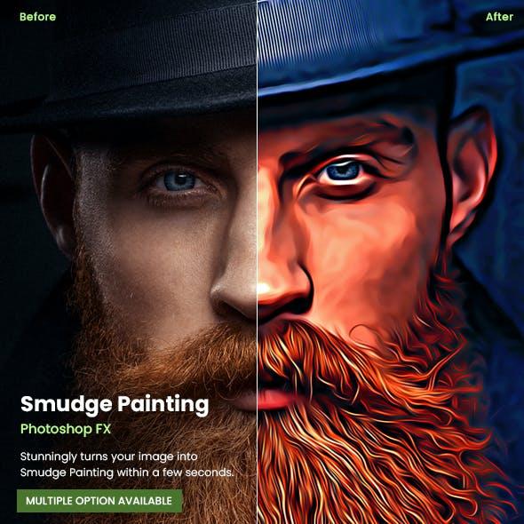 Smudge Painting Photoshop FX