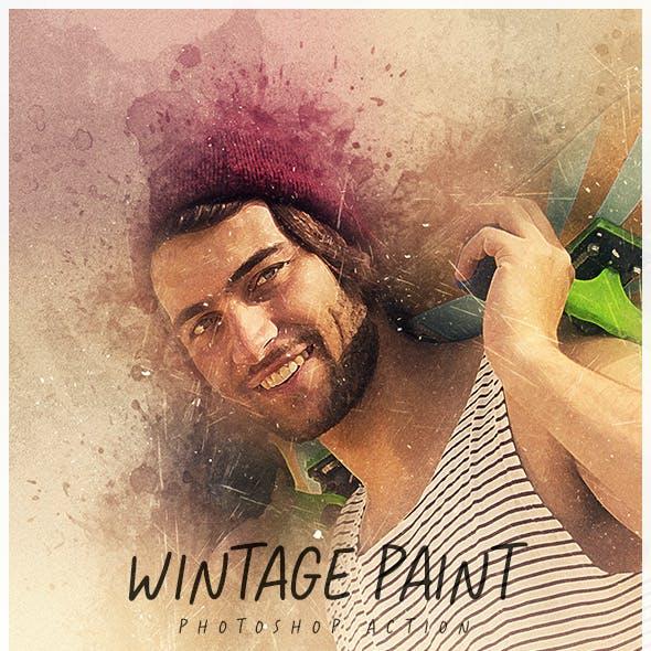 Vintage Paint - Photoshop Action