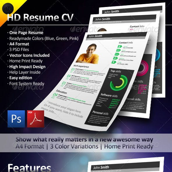 HD Resume CV