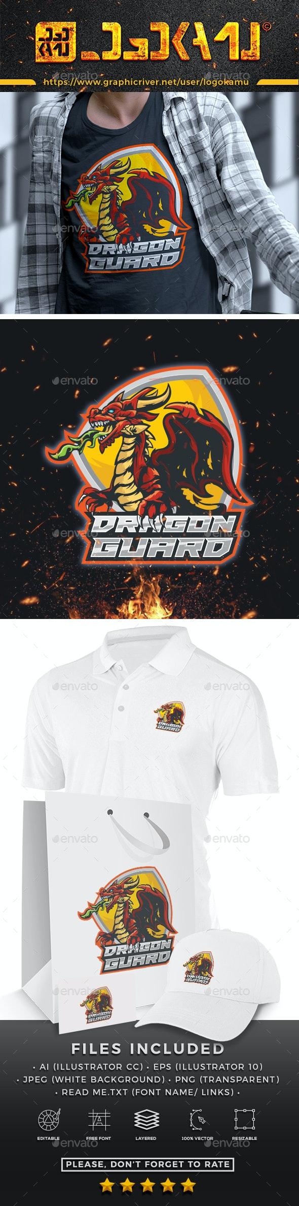 Master Dragon Logo - Animals Logo Templates