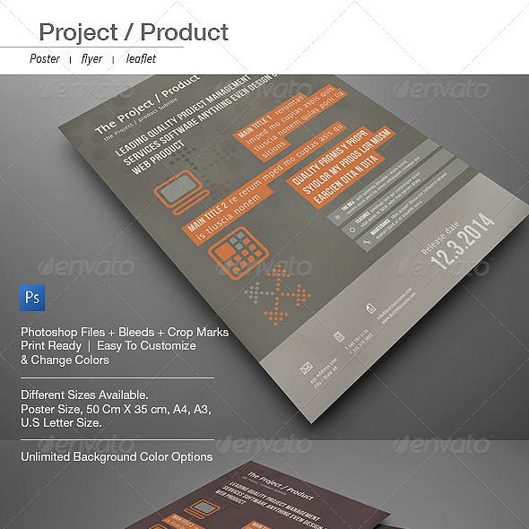 Corporate Pro Poster, Flyer, Leaflet