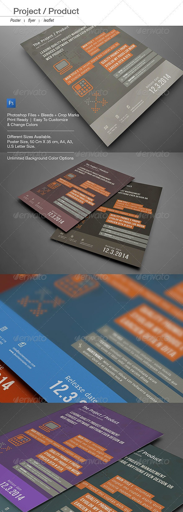 Corporate Pro Poster, Flyer, Leaflet - Corporate Flyers
