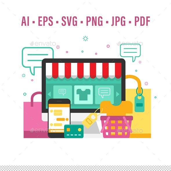 Online Shopping Fashion Store
