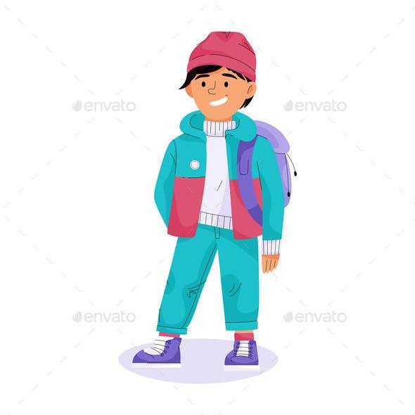 Stylish Children Concept