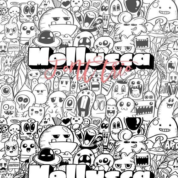 Mollusca Font Trio | Doodle Font
