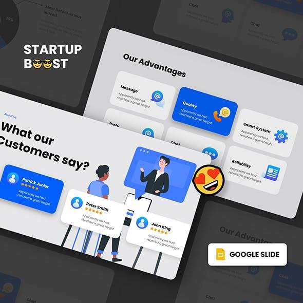 STARTUP BOOST - Google Slides Presentation