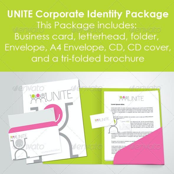 Unite Corporate Identity Branding Package