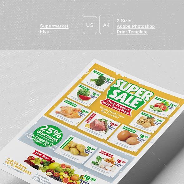 Supermarket Flyer
