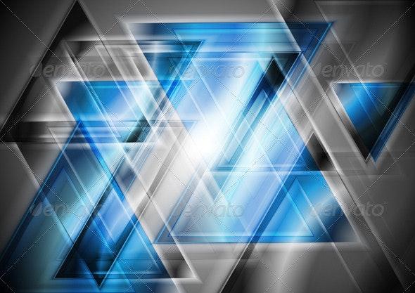 Bright geometrical design - Technology Conceptual