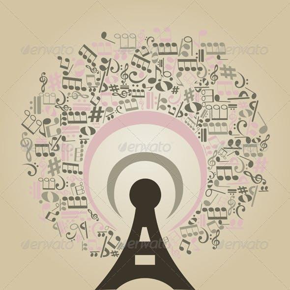 Musical radio