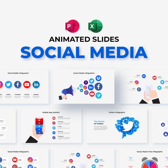 Social Media Animated Presentation Templates