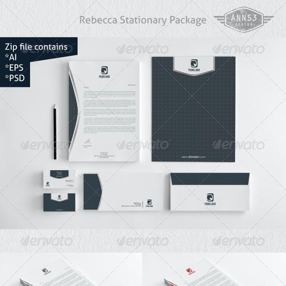 Rebecca Stationery Design