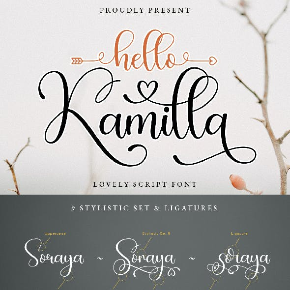 Hello Kamilla Lovely Script