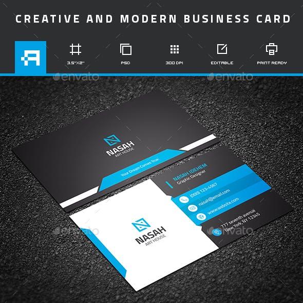 Creative & Modern Business Card