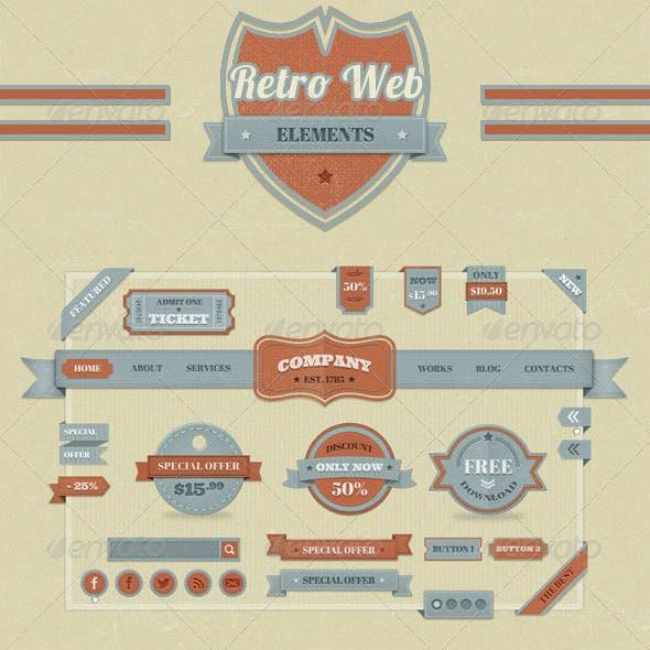 Retro Web Elements