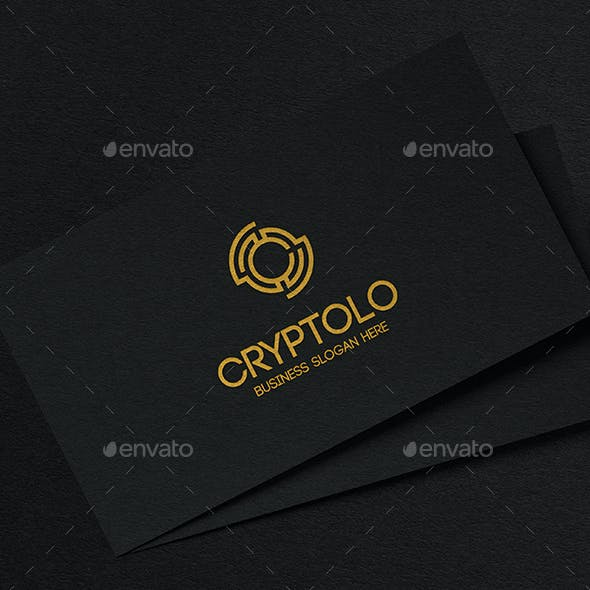 Crypto Logo Symbol and Letter C