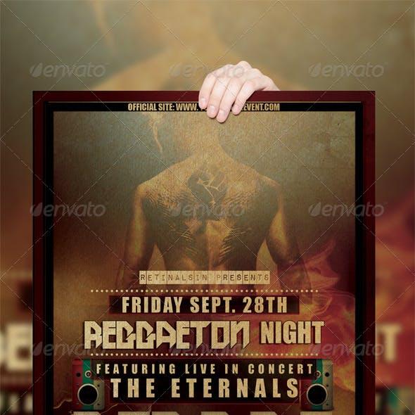 Reggae Poster / Flyer Template
