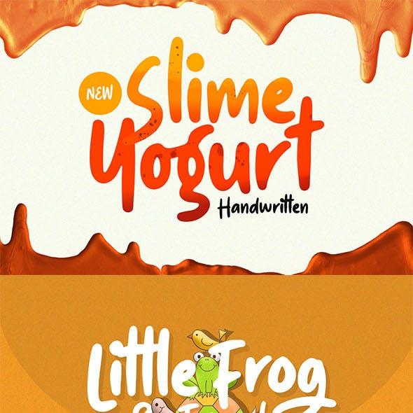 Slime Yogurt - Playful Font
