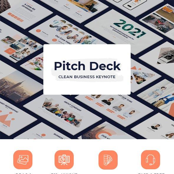 Pitch Deck - Simple Business Keynote