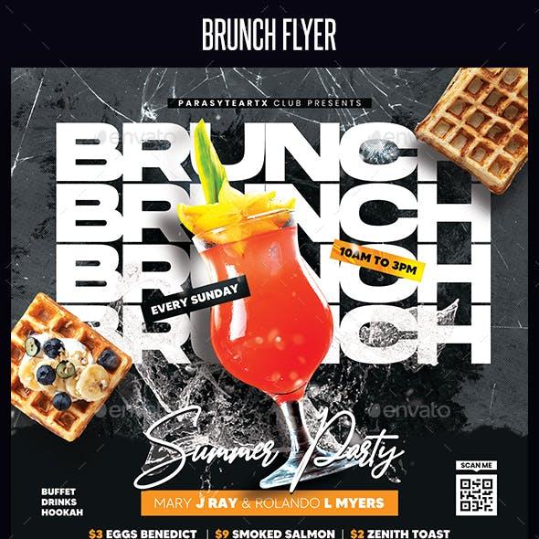 Brunch Flyer