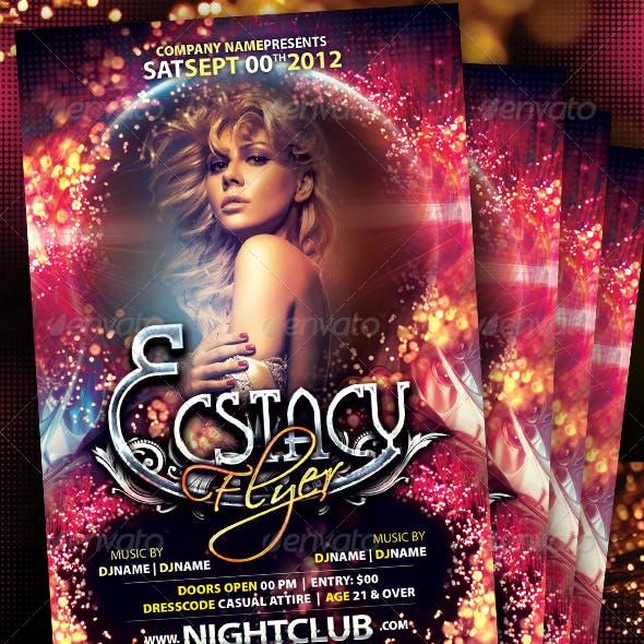 Ecstacy Flyer Template