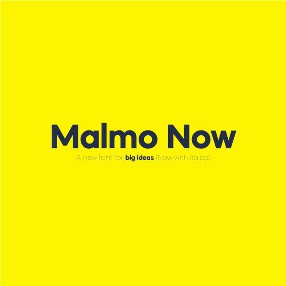 Malmo Now Sans Serif Font