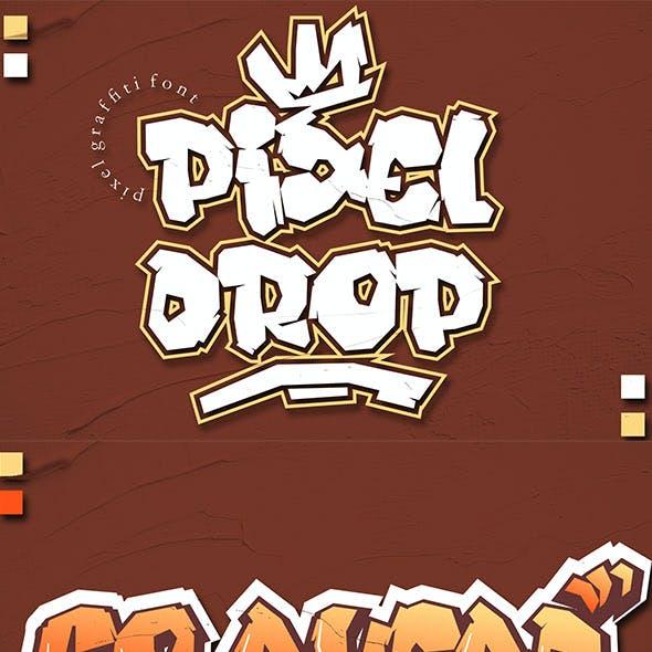 Pixeldrop Graffiti Font