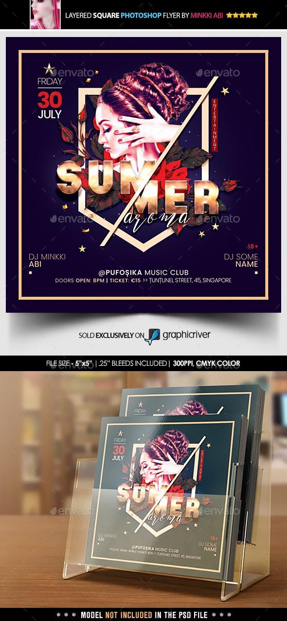 Summer Flyer - Flyers Print Templates