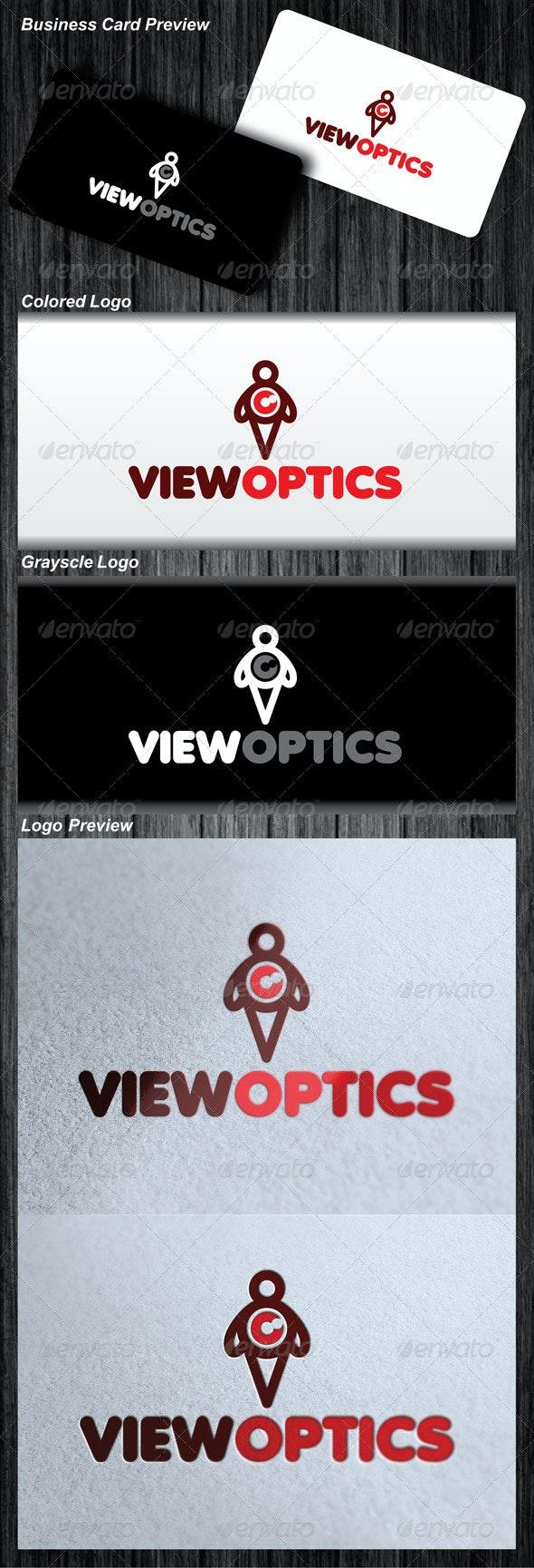 View Optics Logo - Symbols Logo Templates