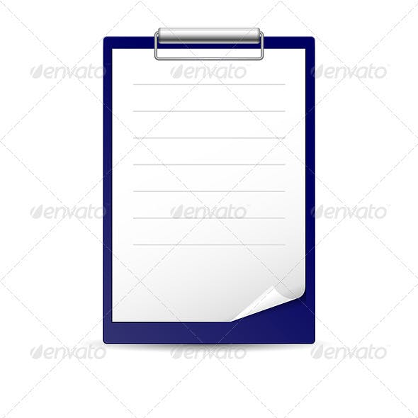 Icon for notes