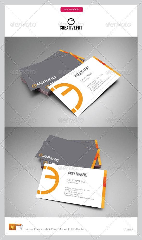 Corporate Business Cards 58 - Corporate Business Cards