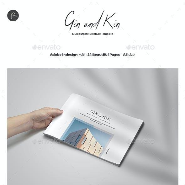 Gin & Kin - Brochure