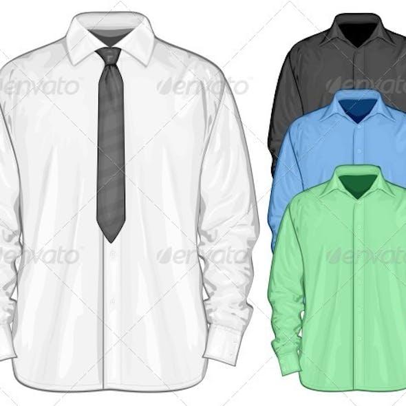 Dress Shirt with Neckties