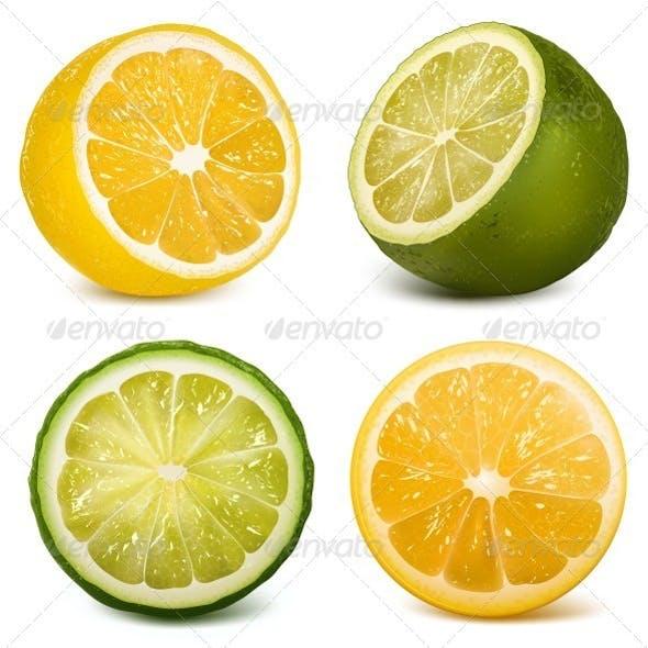 Citrus Fruits  Lime and Lemon