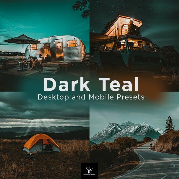 6 Dark Teal Lightroom Presets