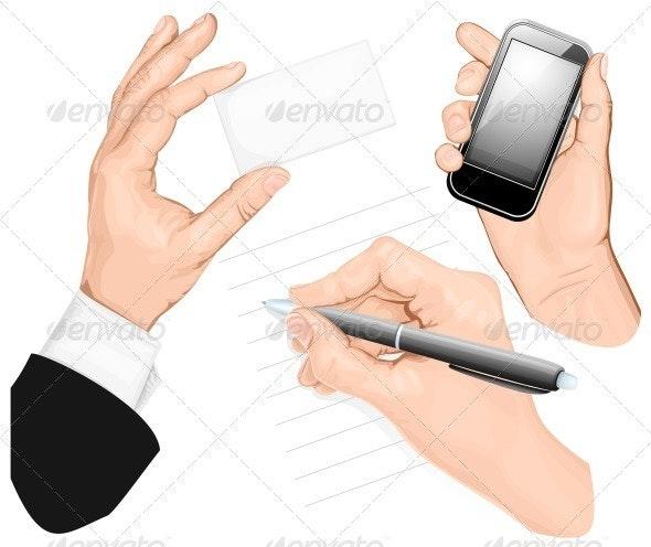Set of Hands - Concepts Business