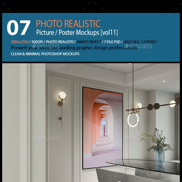Picture / Poster Mockups [vol11]