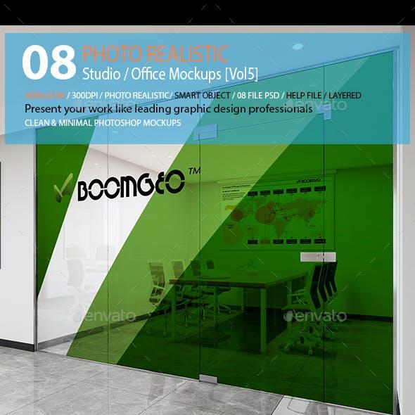 Studio / Office Mockups [Vol5]