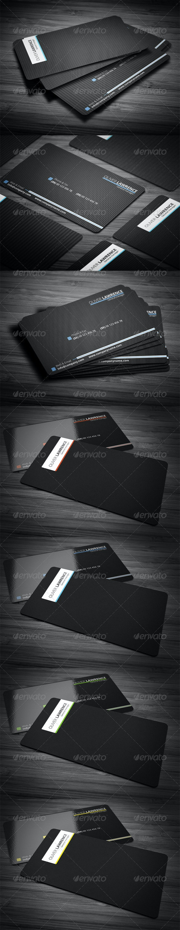 Line Pro Business Card - Corporate Business Cards