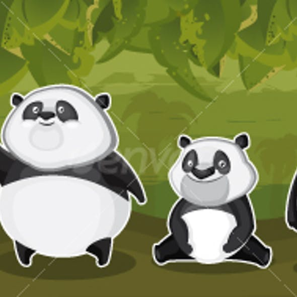 Pandas in the jungle