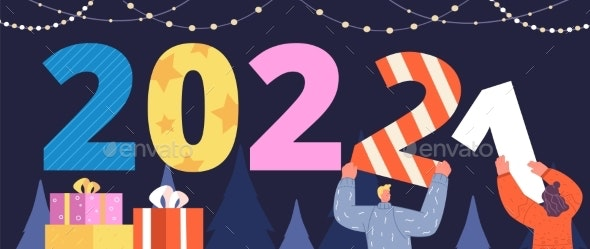 Happy 2022 New Year - Seasons/Holidays Conceptual
