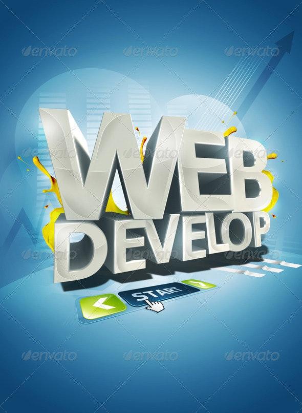 Web Develop - Backgrounds Graphics
