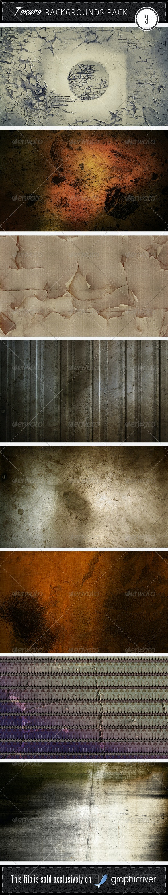 Texture Backgrounds Pack 3 - Miscellaneous Textures