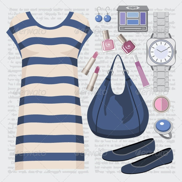 Fashion set with a tunic - Commercial / Shopping Conceptual